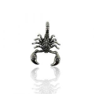 Ciondolo a Forma di Scorpione, In Acciaio