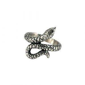 Anello a forma di serpente