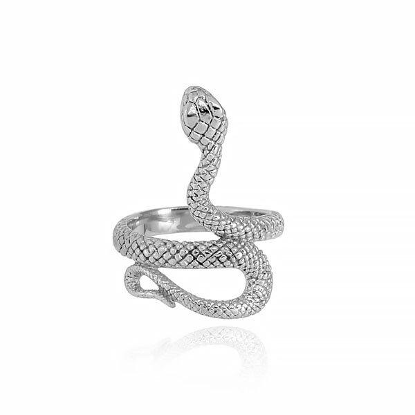 Anello Serpente in acciaio 316L